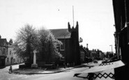 Billericay, Church And Memorial c.1965