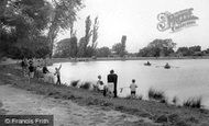 Billericay, Fishing In The Lake c.1965