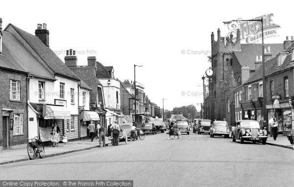 Photo of Billericay, High Street c1955, ref. b319031