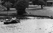 Billericay, Lake Meadows Park, Boating Lake c.1960