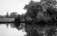 Billericay, Lake Meadows Park c.1955