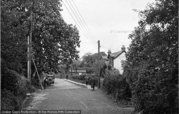 Billericay, Lion Lane c.1955