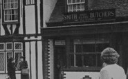 "Billericay, ""Smith"" Butchers c.1955"