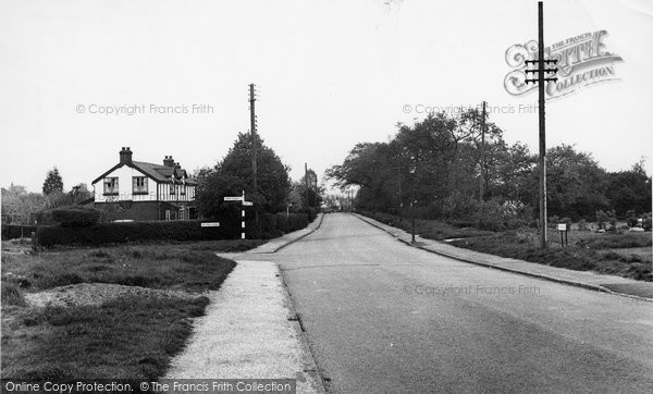 Billericay, Stock Road c.1955