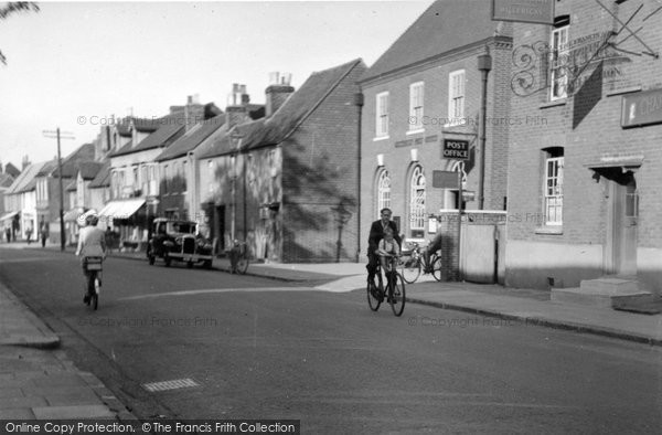 Billericay, The Post Office c.1950