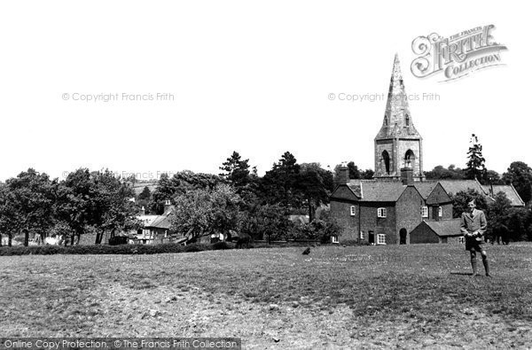 Billesdon, General View c.1955