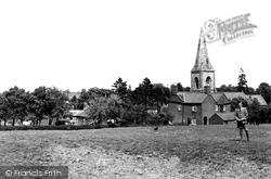 Billesdon, General View c.1955