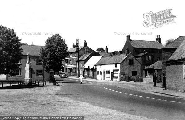 Billesdon, Market Place c.1955