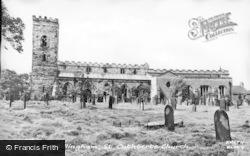 Billingham, St Cuthbert's Church c.1955