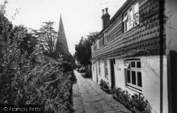 Church Apporach c.1960, Billingshurst