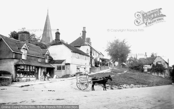 Billingshurst, Church Causeway 1912