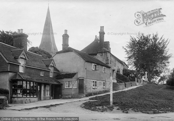 Billingshurst, Church Causeway 1924