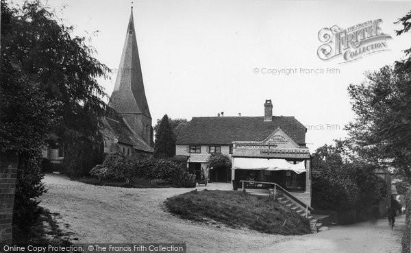 Billingshurst, East Street And St Mary's Church 1912