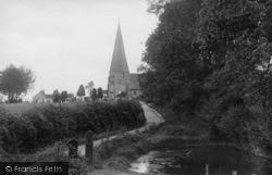 Billingshurst, Holy Well Lane 1923