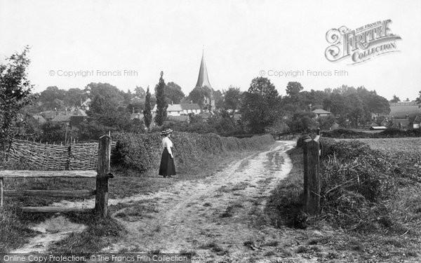 Billingshurst, Mill Lane 1912