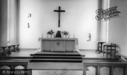 St Gabriel's Catholic Church Interior c.1960, Billingshurst