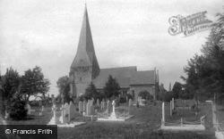 St Mary's Church 1896, Billingshurst