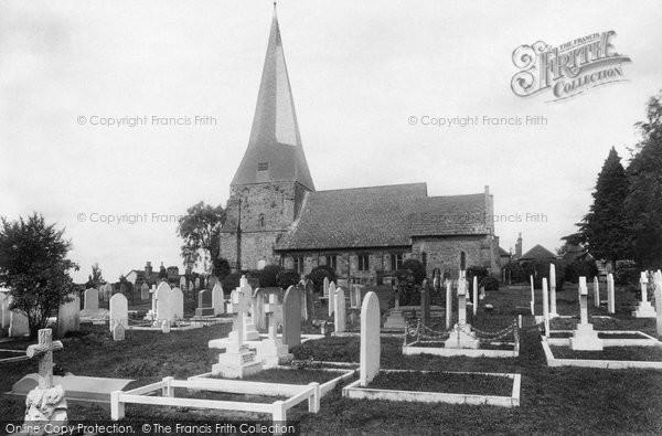Billingshurst, St Mary's Church 1907