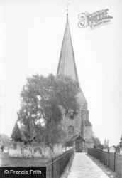 St Mary's Church 1912, Billingshurst