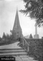 St Mary's Church And War Memorial 1923, Billingshurst