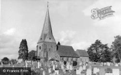 St Mary's Church c.1955, Billingshurst