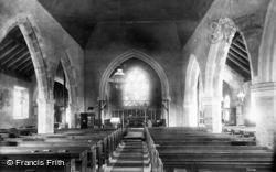 St Mary's Church Interior 1896, Billingshurst
