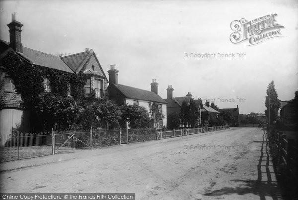 Billingshurst, Station Road 1896