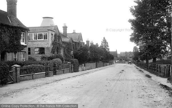 Billingshurst, Station Road 1923
