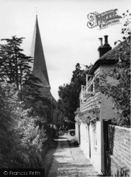 Billingshurst, The Church Approach c.1960