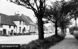 Billingshurst, The Side Walk, High Street c.1960