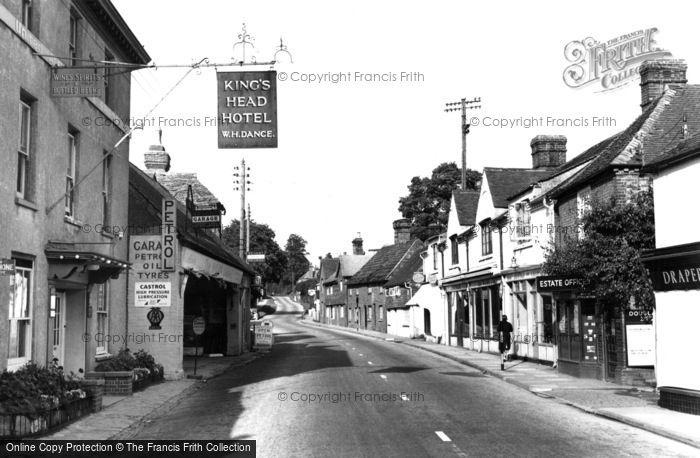 Billingshurst, The Village c.1955