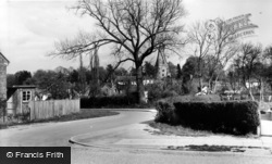 Billingshurst, View From Mill Way c.1960