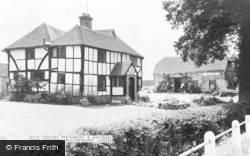 Xvth Century Restaurant And Antiques, Great Groomes c.1950, Billingshurst