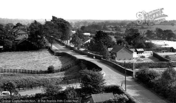 Bilsborrow, Bilsborrow Lane c.1960