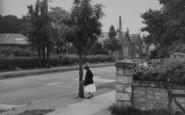 Bilsborrow, School Corner c.1955