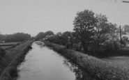 Bilsborrow, The Canal c.1960