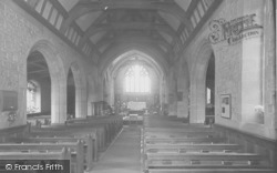 The Church Interior c.1960, Bilsborrow