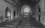 Bilsborrow, The Church Interior c.1960
