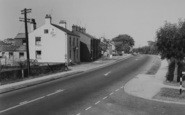 Bilsborrow, The Garstang Road c.1960