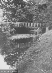 The River Brock c.1960, Bilsborrow