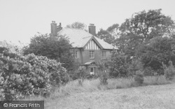 The Vicarage c.1960, Bilsborrow