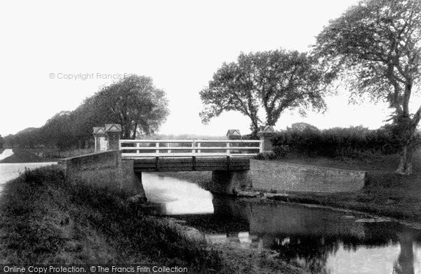 Bilsington, Canal Bridge 1909