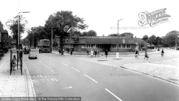 Bilston, Clinic And Wellington Road c.1965