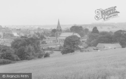 Church And Village c.1955, Binbrook