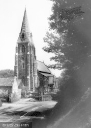 Church c.1960, Binbrook