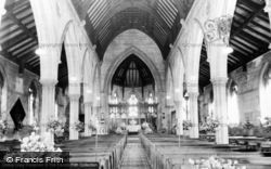 Church Interior c.1960, Binbrook