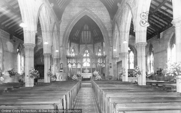 Photo of Binbrook, Church Interior c.1960