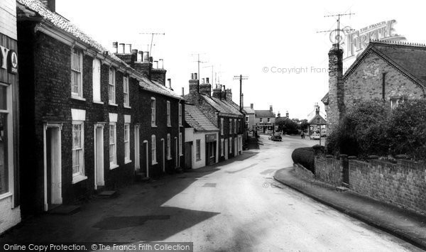 Photo of Binbrook, Market Place From Ludford Road c.1960