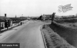 Market Rasen Road c.1960, Binbrook