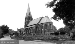 St Mary And St Gabriel Church c.1955, Binbrook